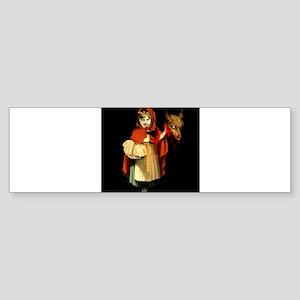 Little Red Riding Hood Gets Revenge Sticker (Bumpe