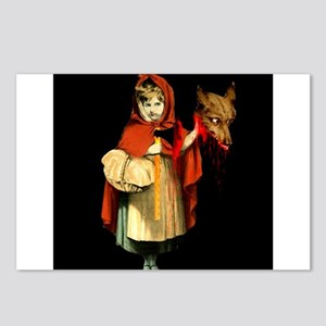 Little Red Riding Hood Gets Revenge Postcards (Pac