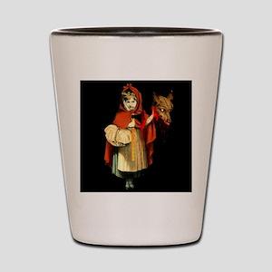 Little Red Riding Hood Gets Revenge Shot Glass