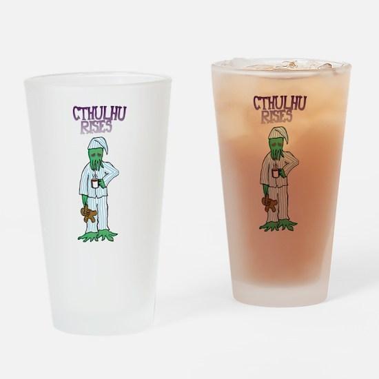 Cthulhu Rises Drinking Glass