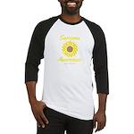 Sarcoma Awareness Ribbon Sunflower Baseball Jersey