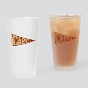 Go Carvel! Drinking Glass