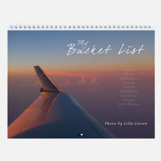 My Travel Bucket List Wall Calendar