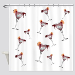 Witchs Cocktail Shower Curtain