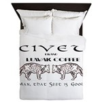 Civet Brand Luwak Coffee Queen Duvet