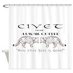 Civet Brand Luwak Coffee Shower Curtain
