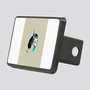 narwhal rodeo Rectangular Hitch Cover