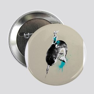 """narwhal rodeo 2.25"""" Button"""