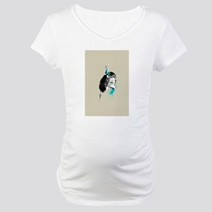 narwhal rodeo Maternity T-Shirt