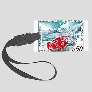 1963 Monaco Grand Prix Postage Stamp Large Luggage