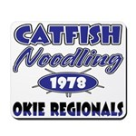 Catfish Noodling Mousepad