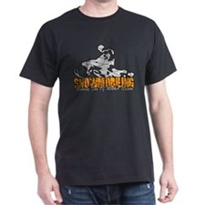Snowmobiling Dark T-Shirt