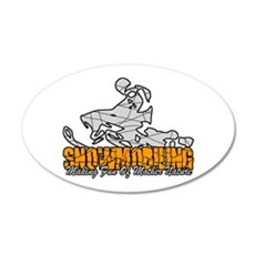 Snowmobiling Wall Decal