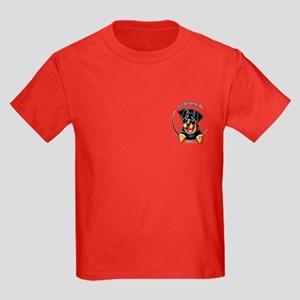 Pocket Rottie IAAM Kids Dark T-Shirt
