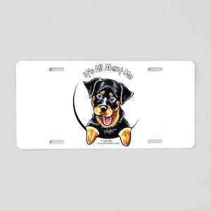 Rottweiler IAAM Aluminum License Plate