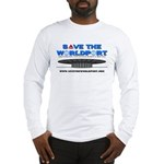 Save the Worldport Front - Light Shirts Long Sleev