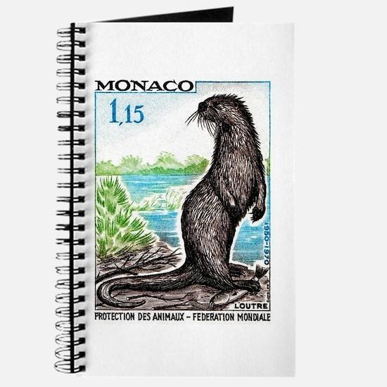 1970 Monaco Otter Postage Stamp Journal