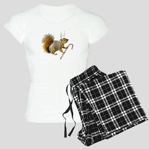 Reindeer Squirrel Women's Light Pajamas