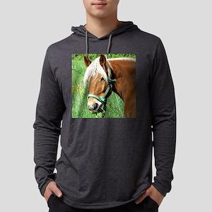 Goldie Suffolk Draft Horse Mens Hooded Shirt