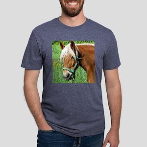 Goldie Suffolk Draft Horse Mens Tri-blend T-Shirt