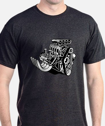 Hemi Hotrod Engine T-Shirt