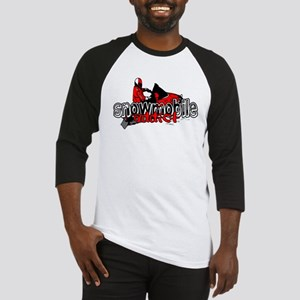 Snowmobile Addict Baseball Jersey