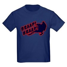Braap Braap Kids Dark T-Shirt