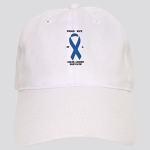 Supportive Wife Colon Cancer Cap
