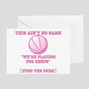 Aint No Game Greeting Card