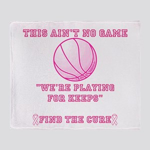 Aint No Game Throw Blanket