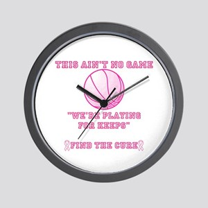 Aint No Game Wall Clock