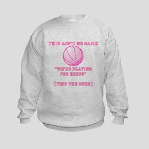 Aint No Game Kids Sweatshirt