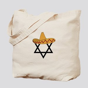 A Jew and a Mexican Star of Sanchez Tote Bag