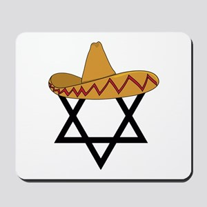 A Jew and a Mexican Star of Sanchez Mousepad