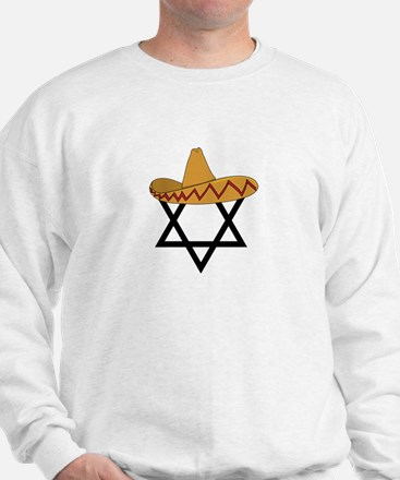 A Jew and a Mexican Star of Sanchez Sweatshirt