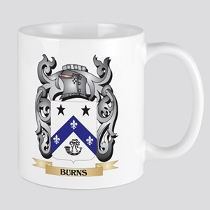 Burns Family Crest - Burns Coat of Arms Mugs