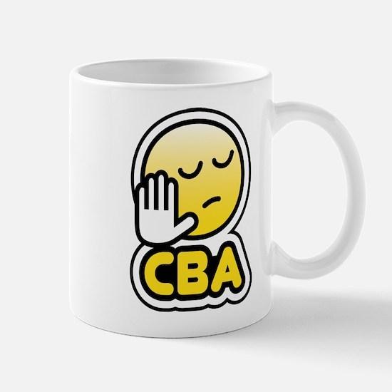 cba bbm smiley Mug