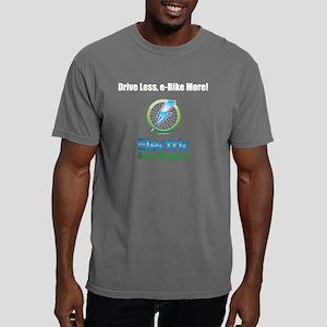 Drive Less, e-Bike More! Mens Comfort Colors Shirt