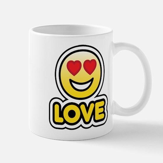 love bbm smiley Mug