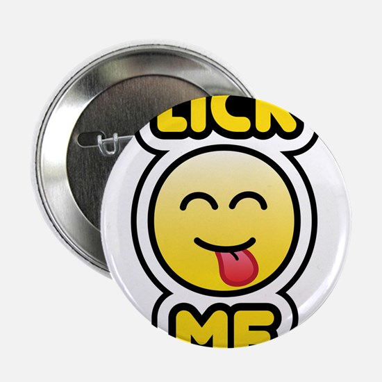 "lick me bbm smiley 2.25"" Button"