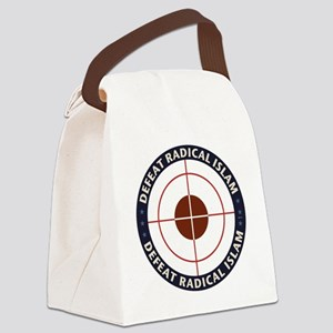 Defeat Radical Islam Canvas Lunch Bag