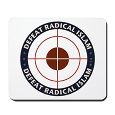 Defeat Radical Islam Mousepad