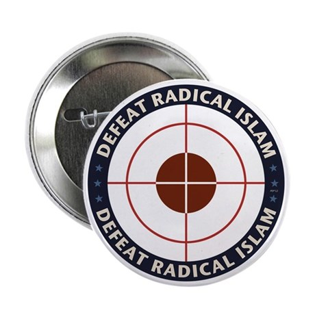 "Defeat Radical Islam 2.25"" Button (10 pack)"