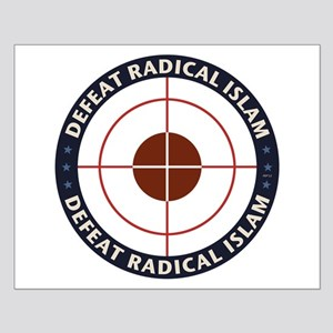 Defeat Radical Islam Small Poster