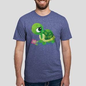 Toshi the Turtle Mens Tri-blend T-Shirt