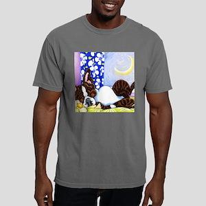 Moon Over Boston Mens Comfort Colors Shirt