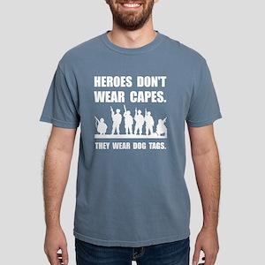 Heroes Wear Dog Tags Mens Comfort Colors Shirt