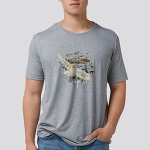 Vintage Flying Eagle Mens Tri-blend T-Shirt