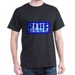 BLUE Black T-Shirt
