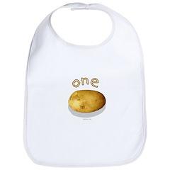 one potato (multiples set) Bib
